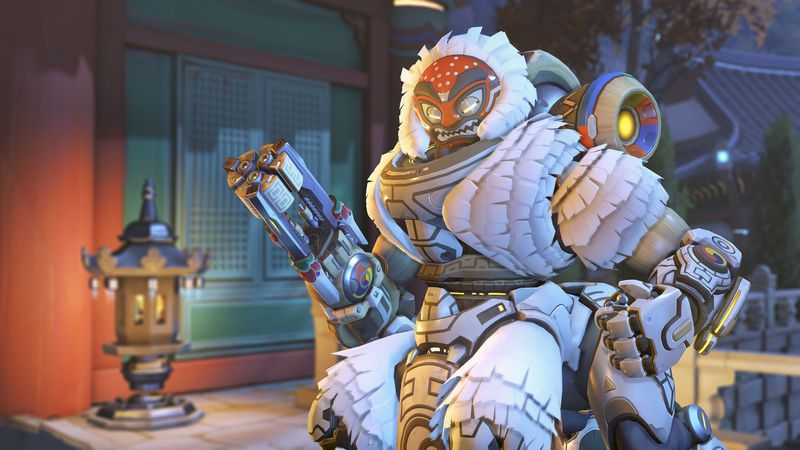 Overwatch - Lion Orisa skin for 2019 Lunar New Year event
