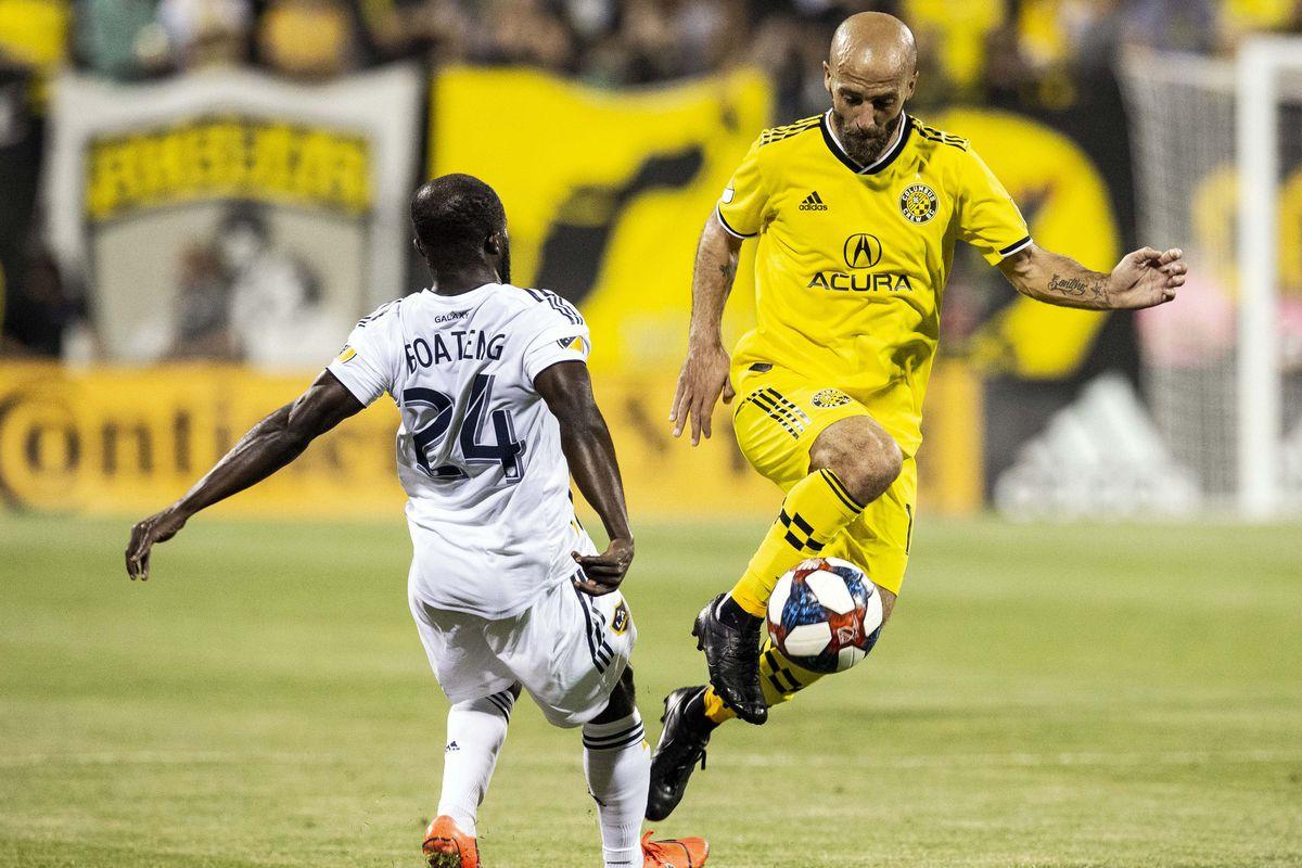 MLS: LA Galaxy at Columbus Crew SC