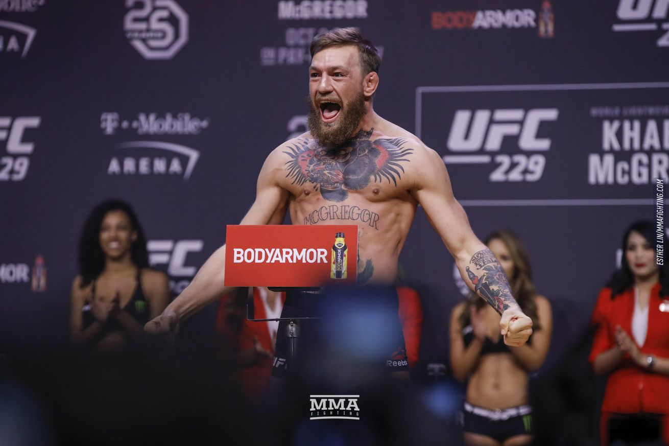 Conor McGregor addressed Floyd Mayweather's latest announcement.