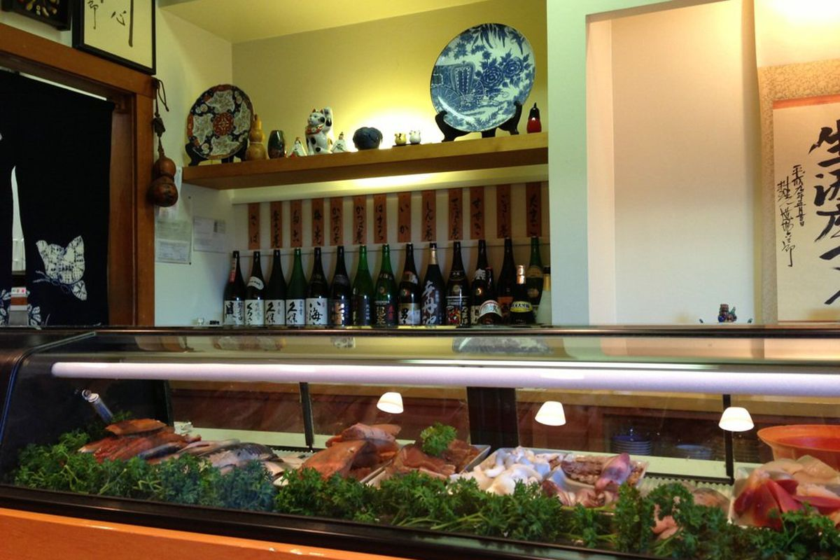 Sushi bar at Ino Sushi