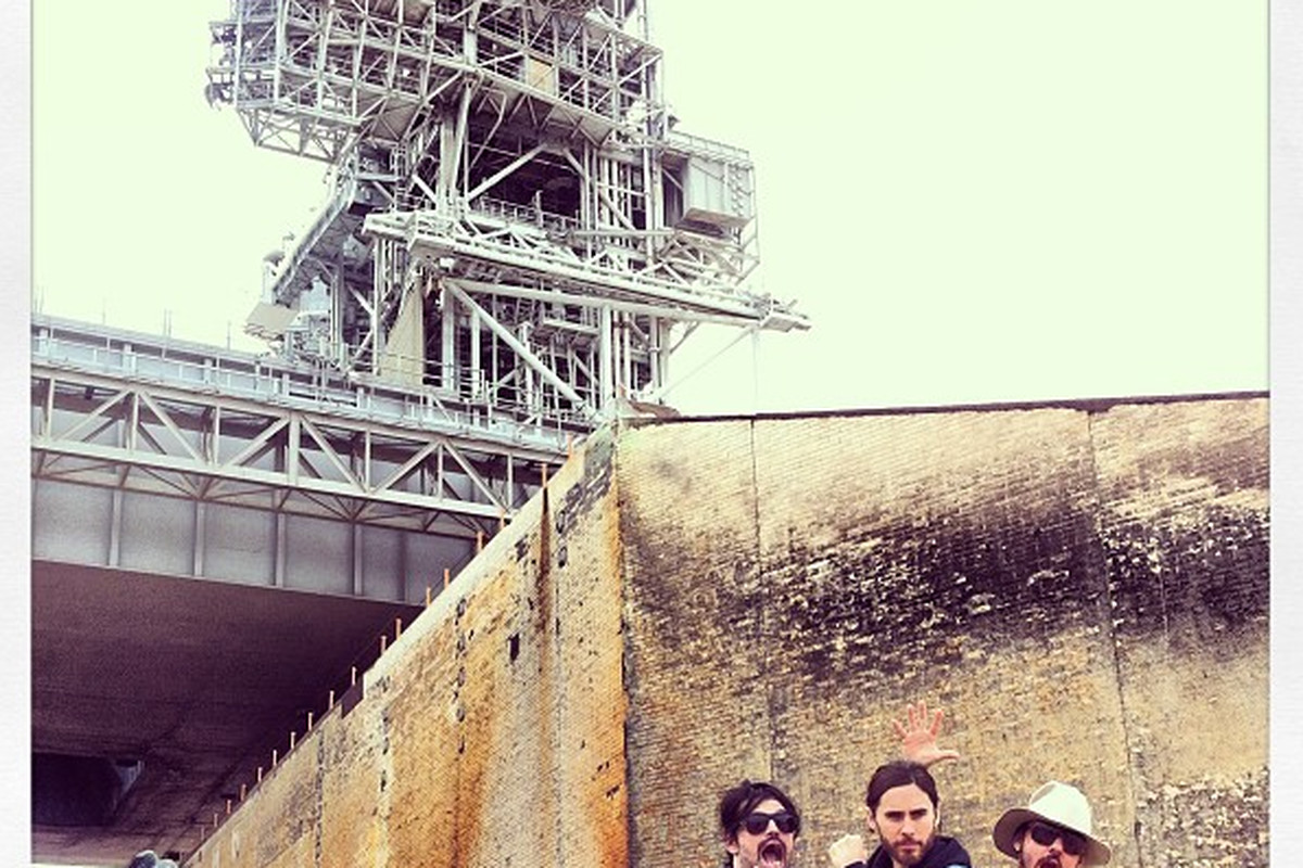 Thirty Seconds to Mars Instragram SpaceX