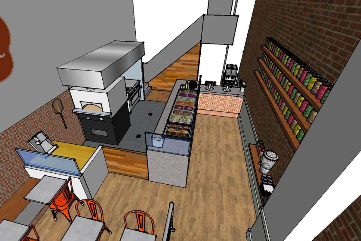 Preliminary rendering of Sababa