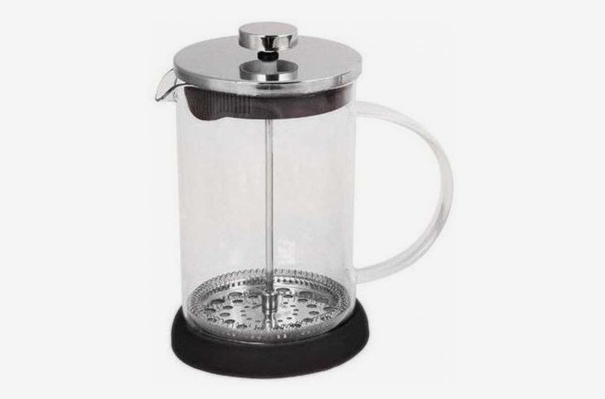 French press with double filter, one of the best coffee makers for 2020