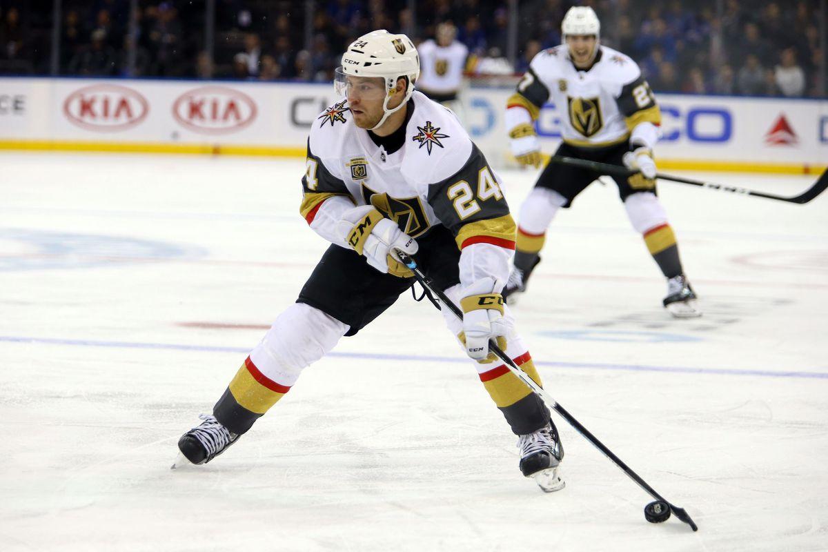 NHL: Vegas Golden Knights at New York Rangers