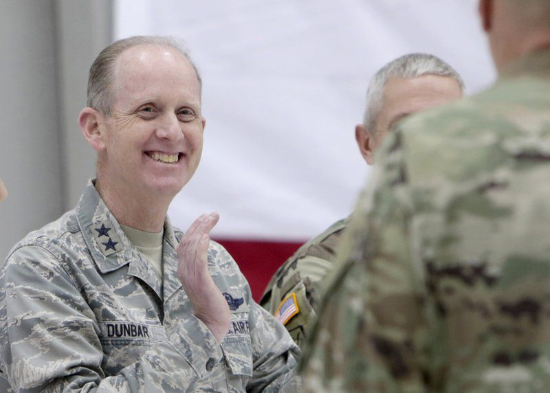 Maj. Gen. Donald Dunbar, who headed the Wisconsin National Guard, resigned in a simlar case involving the improper use of internal investigations of sexual assault complaints rather than forwarding them to criminal investigators.