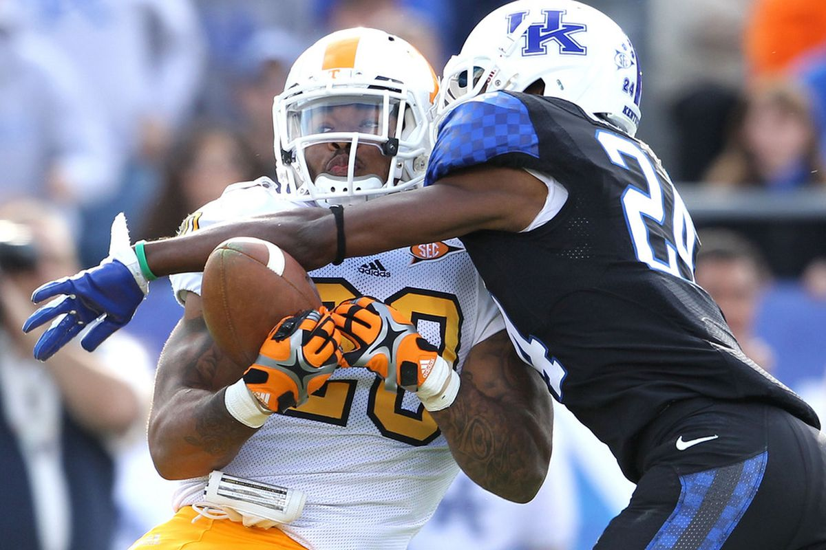 Kentucky will have a rare chance to win two in a row against Tennessee.