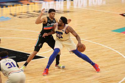 Philadelphia 76ers v San Antonio Spurs