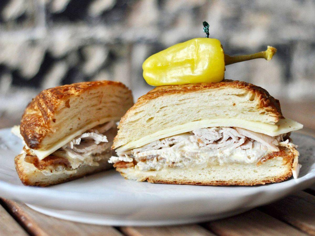 The turkey sweet sandwich from Walton's