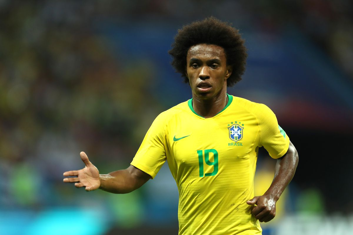 Neymar Cedera, Willian Diuntungkan