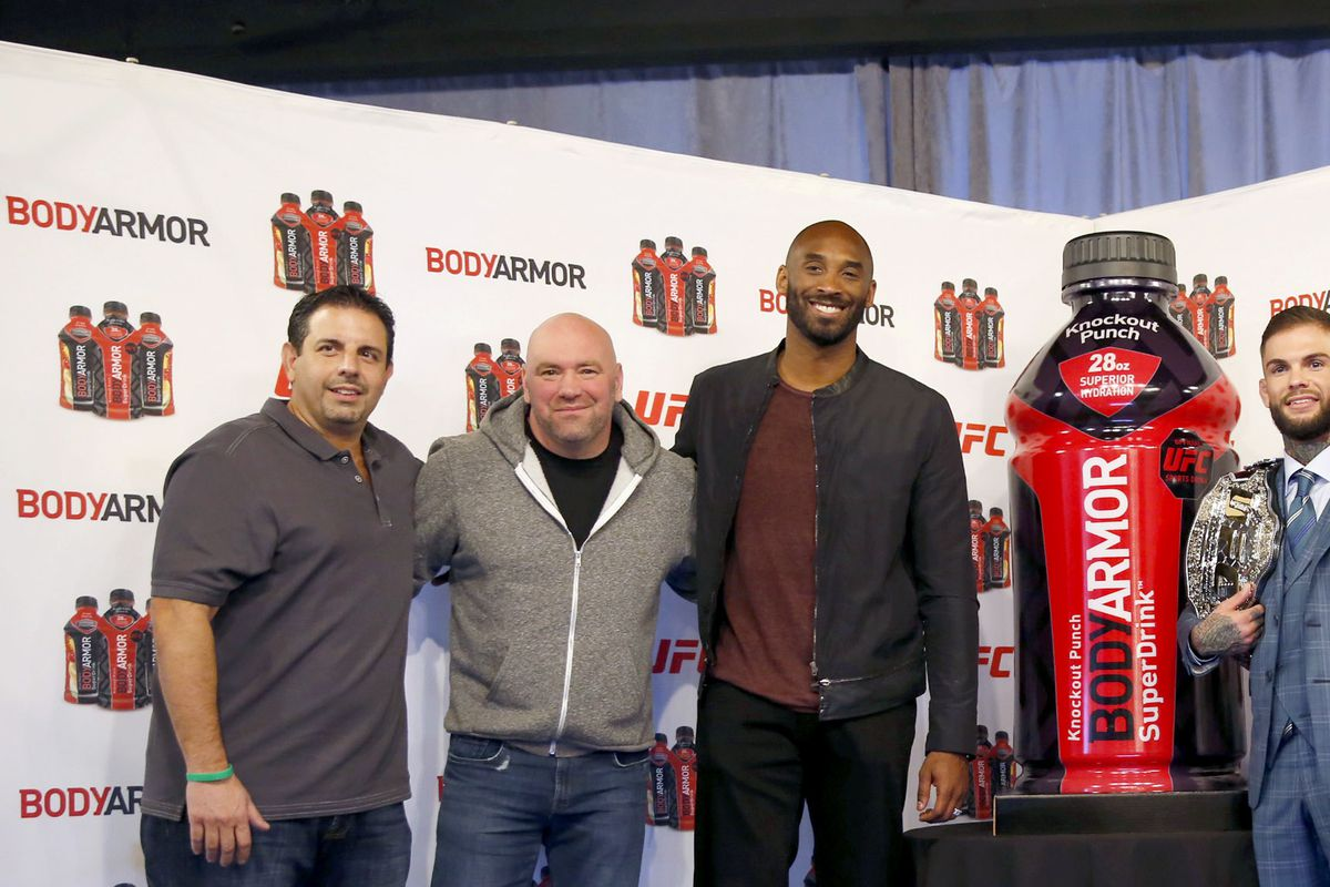 Kobe Bryant and BODYARMOR to Announce Partnerships With 4 UFC Fighters and Unveil New UFC Flavor 'Knockout Punch'