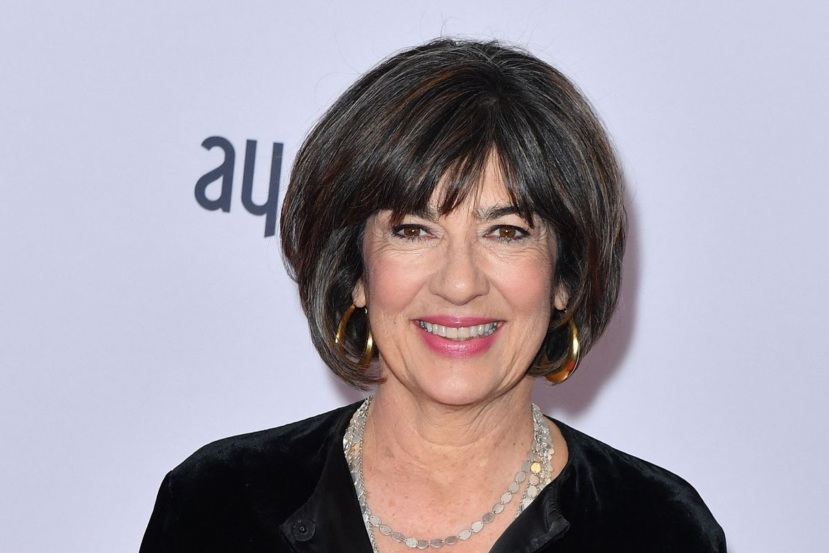 Journalist Christiane Amanpour arrives for the 47th Annual International Emmy Awards at New York Hilton in New York City in 2019.