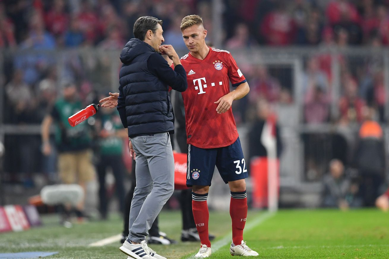 Locker room leak: Kovac puts Kimmich in his place, calls out Süle