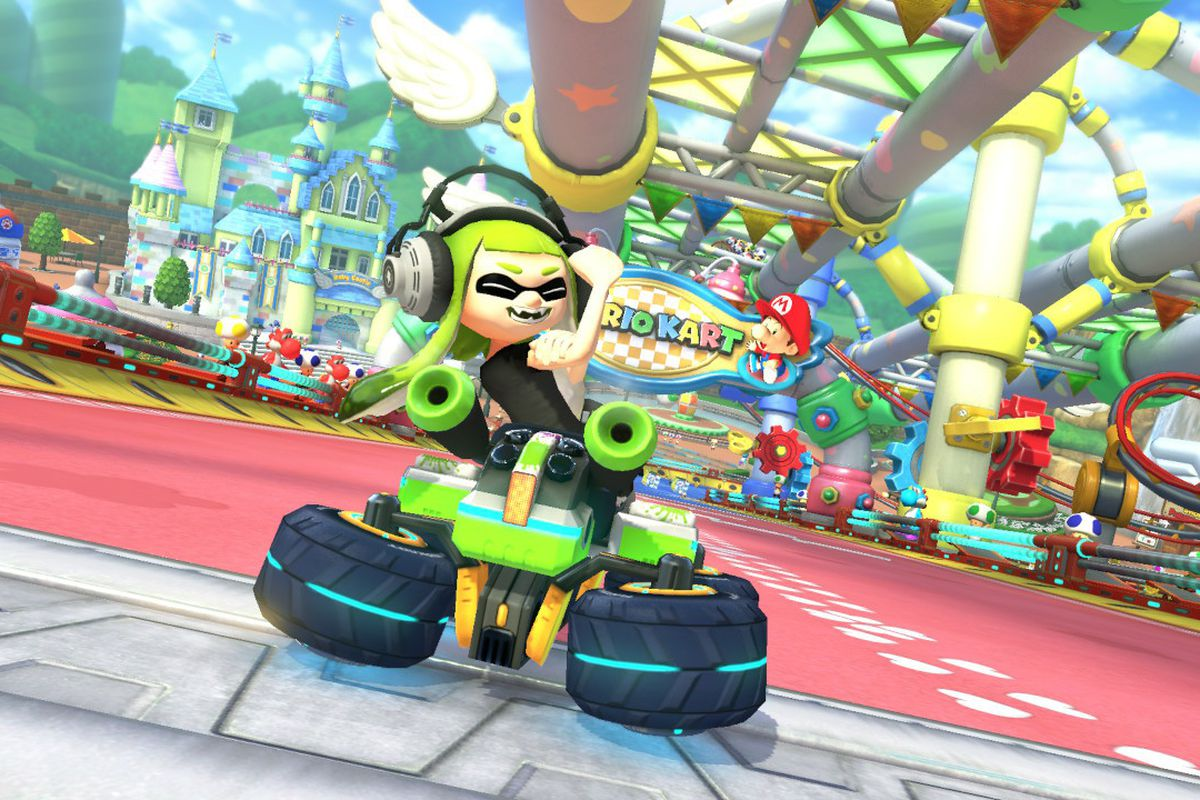 Mario Kart 8 Deluxe Patch Edits Out Obscene Gesture Polygon