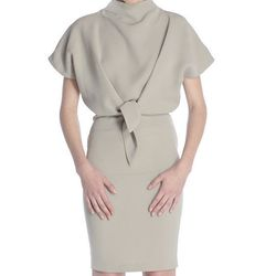 """<strong>Daniela Corte</strong> Nudo Dress, <a href=""""http://www.danielacorte.com/collections/shop-online/products/nudo-dress"""">$545</a>"""
