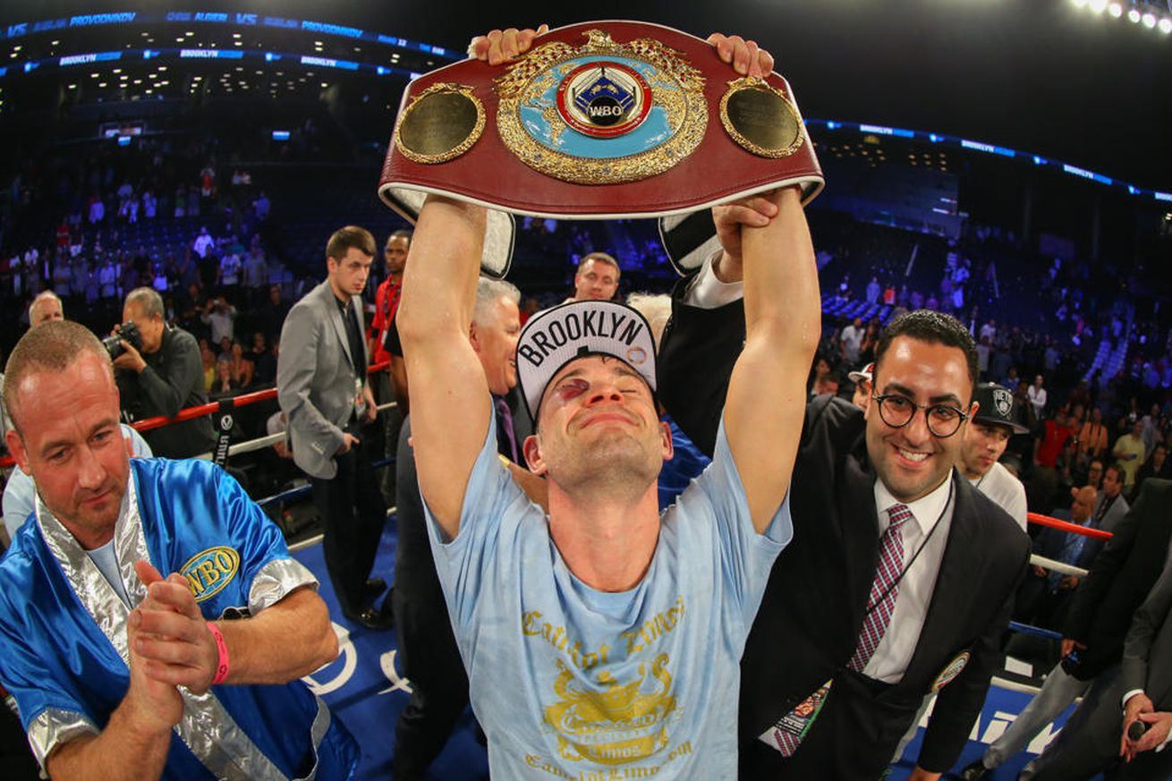 Chris Algieri Champ.0 - Algieri-Coyle in the works for Joshua-Miller undercard