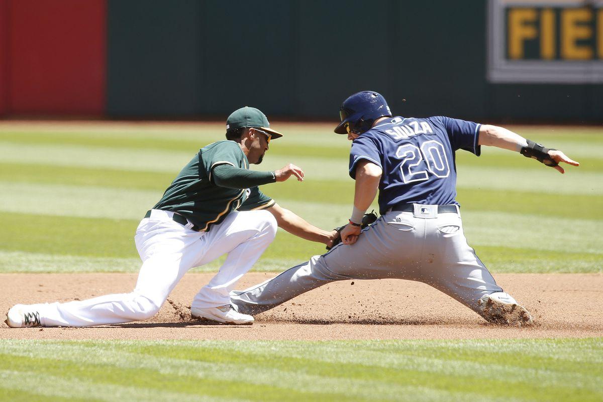 MLB: Tampa Bay Rays at Oakland Athletics