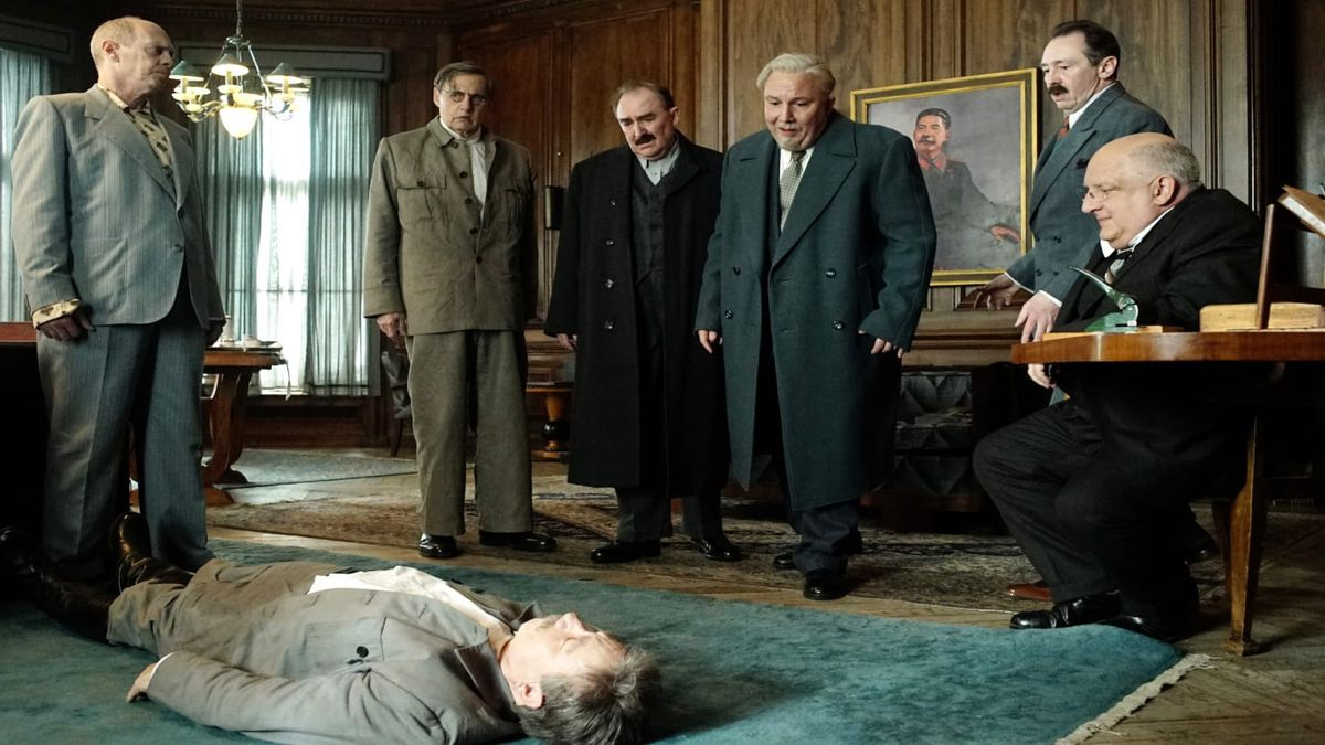 death of stalin the scene in which stalin dies
