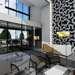 Crew administrative workers will be closer to the team in the new facility