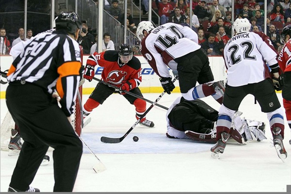 42a93400309 Avalanche at Devils Recap  Giguere And Brodeur Earn Shutouts
