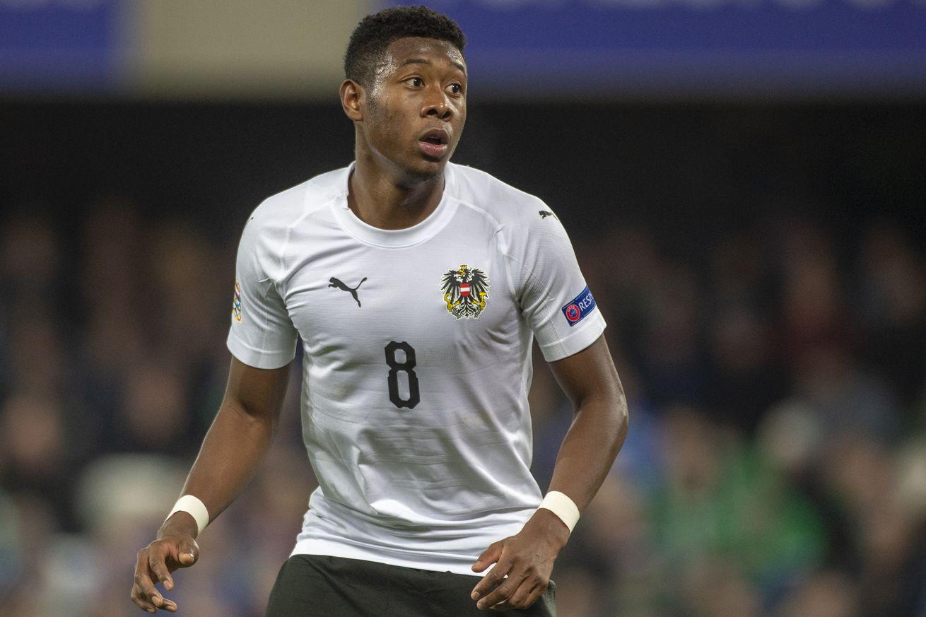 Bayern Munich?s David Alaba earns international call-up for Austria