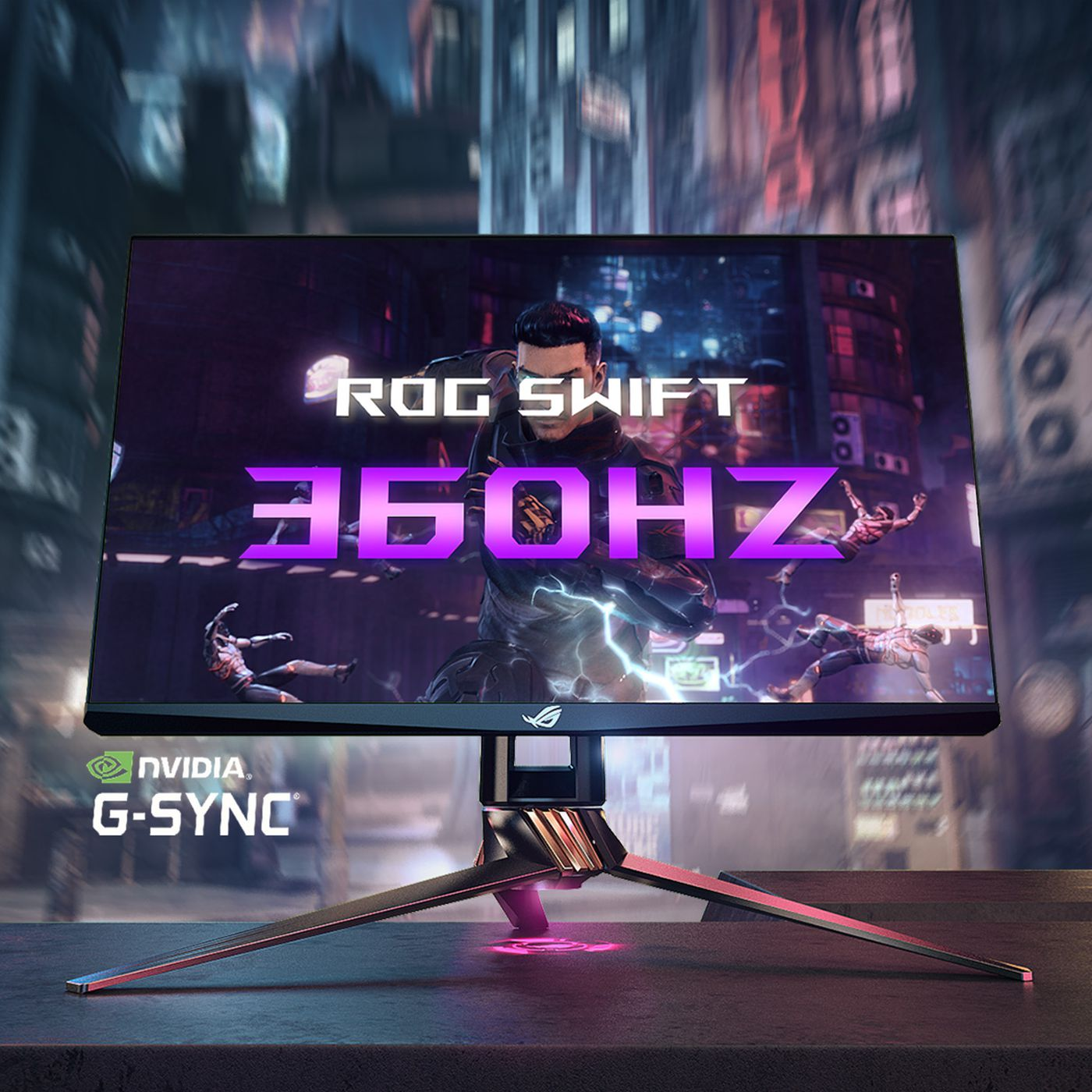 Asus 10Hz gaming monitor: designed for e-sports and competitive