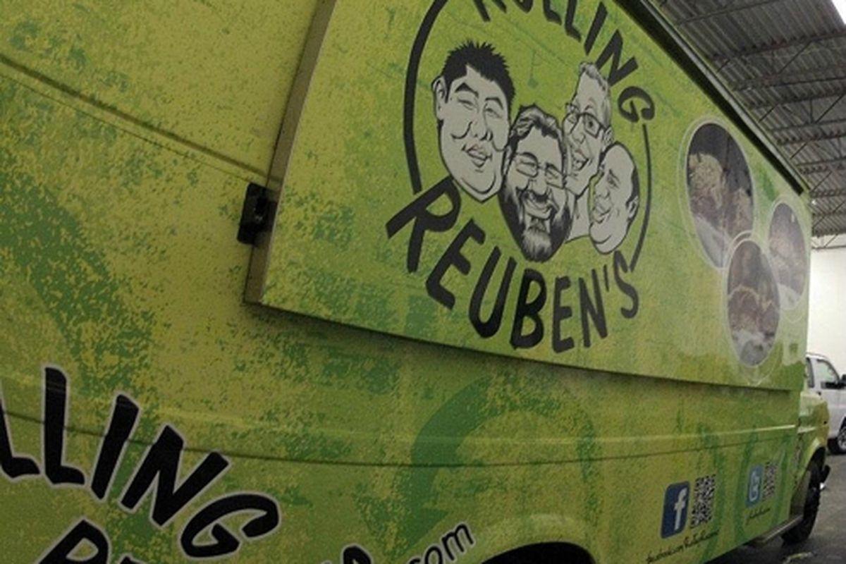 Rolling Reuben's truck.