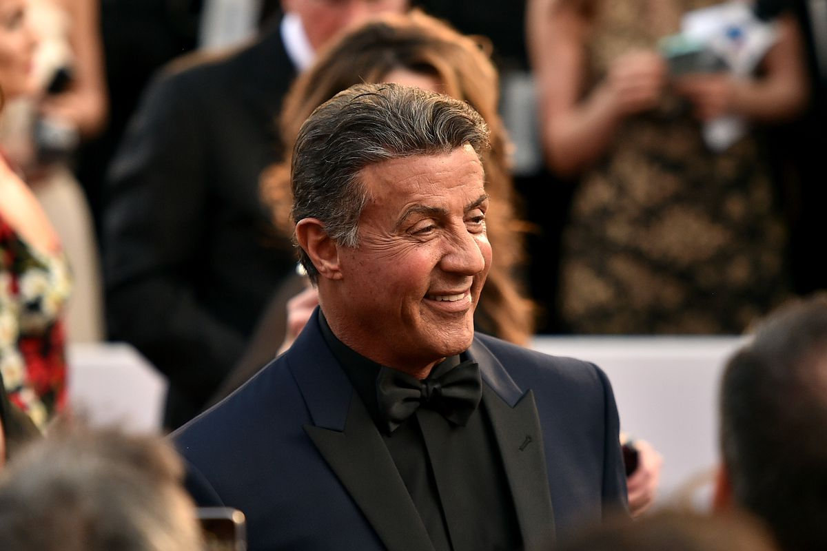 Sylvester Stallone at the Oscars