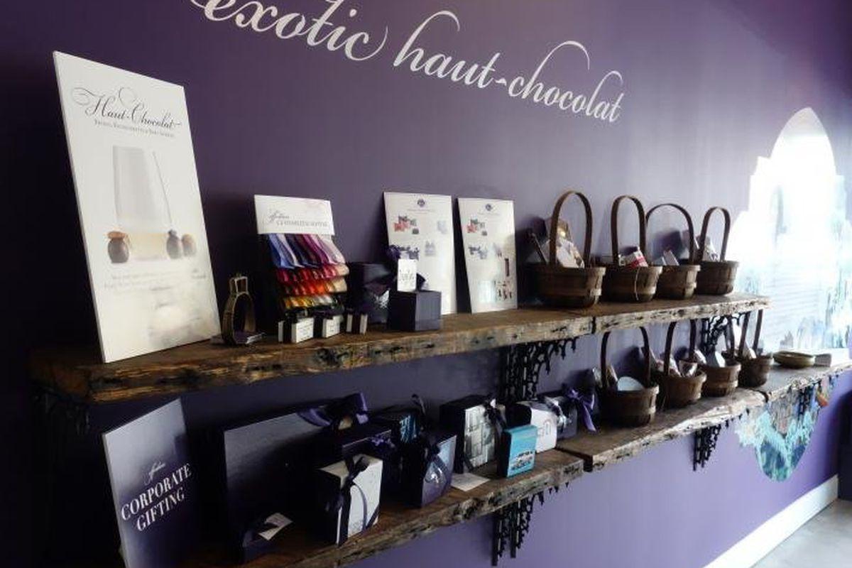Inside Vosges Haut-Chocolat