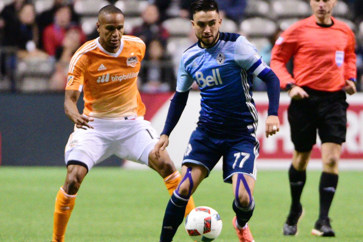 Pedro Morales showed strength on both sides of the ball in Vancouver's win against the Dynamo