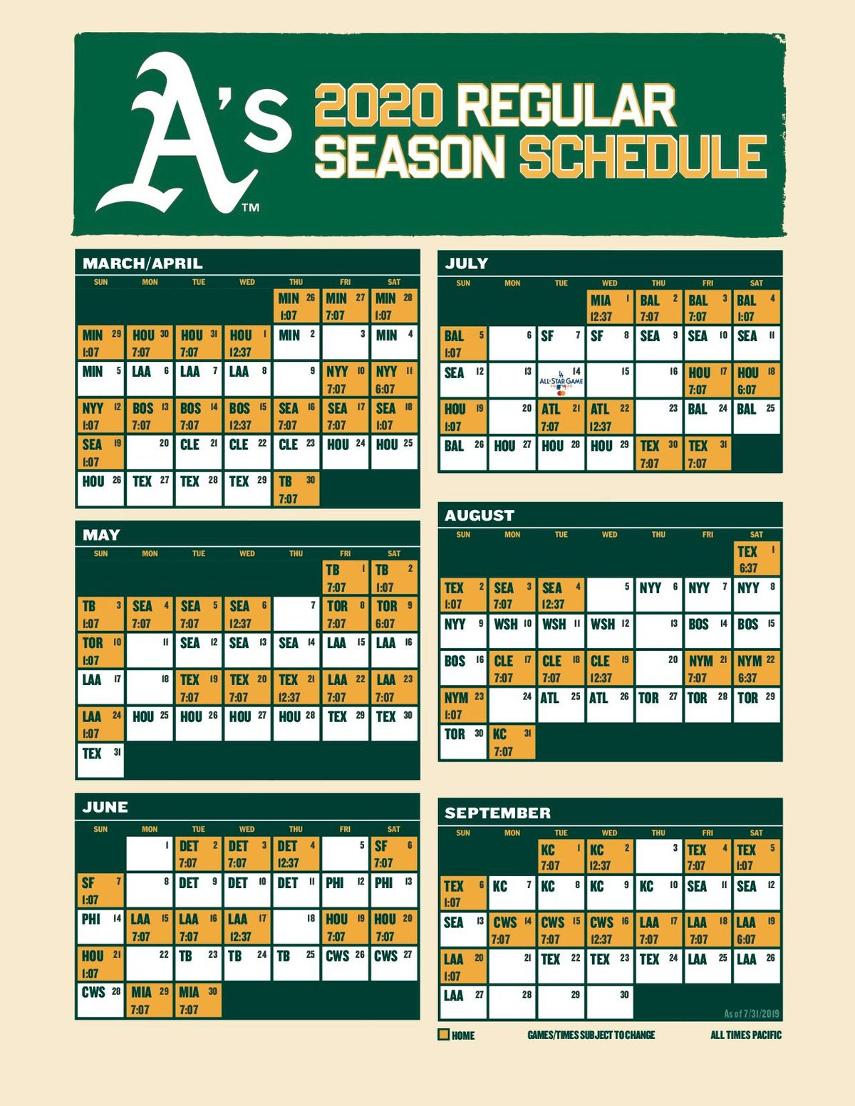 This is an image of Rare Sf Giants Schedule Printable