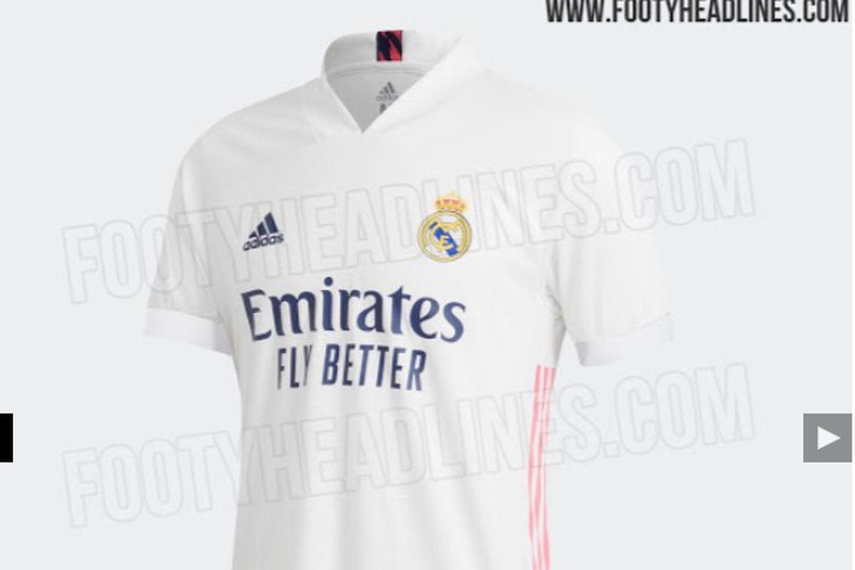 Adidas Update Real Madrid S Leaked Home Kit For 2020 21 Season Managing Madrid