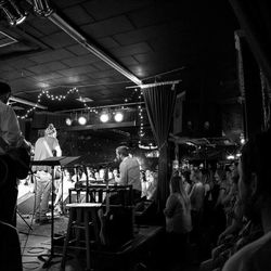 Isaac Russell performs at Velour, a Provo venue that focuses on promoting and mentoring local talent.