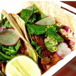 Sisig tacos from Hapa SF