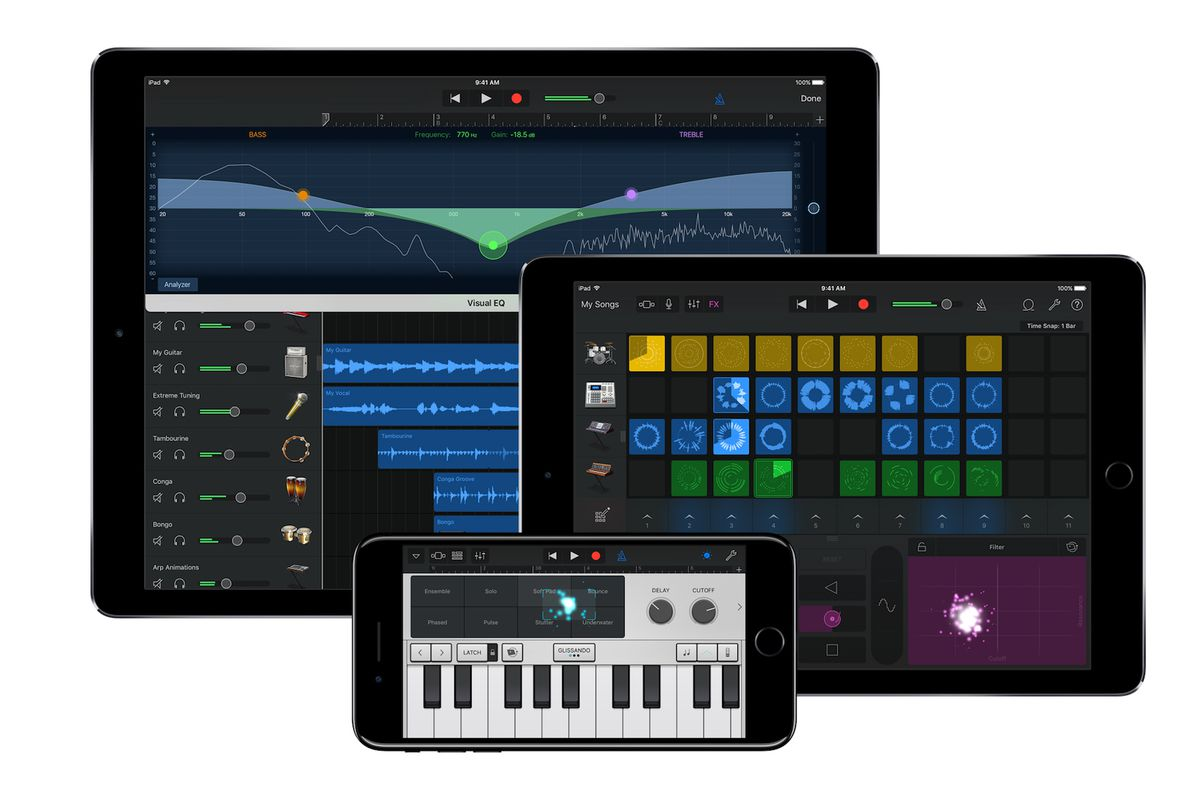 Apple's GarageBand, iMovie, and iWork apps are now