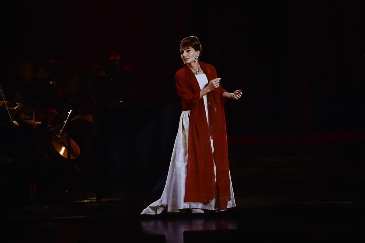 Maria Callas hologram concert: 'She's weirdly alive'