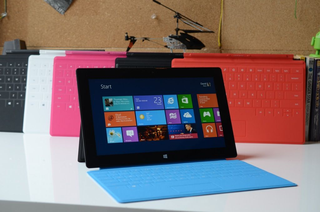 Microsoft Surface RT pictures