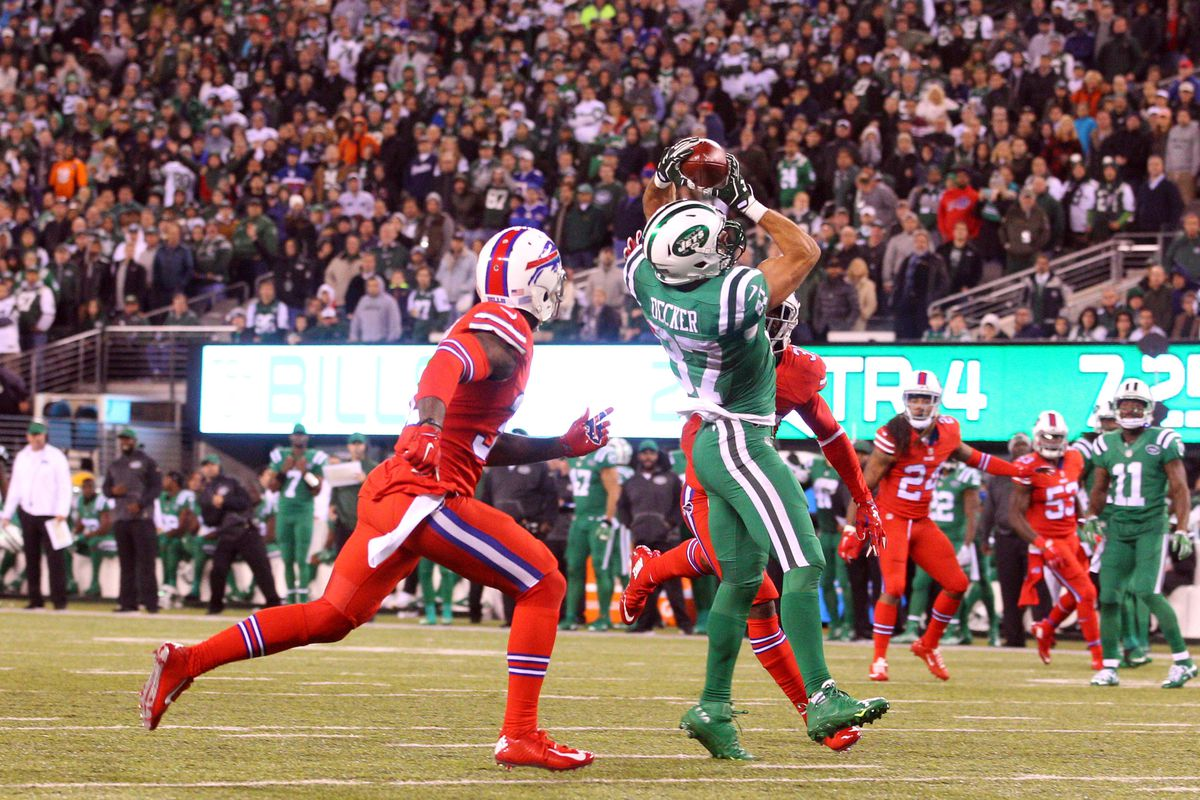 Another step in Jets purge: Wideout Eric Decker released