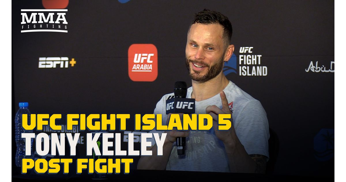 Video: Tony Kelley frustrated with UFC Fight Island 5 win: 'I didn't come to pitter-pat'