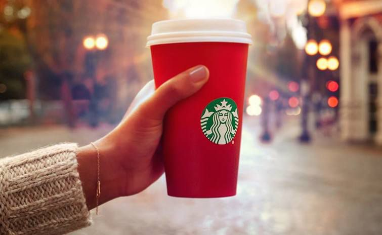 Starbucks/Facebook