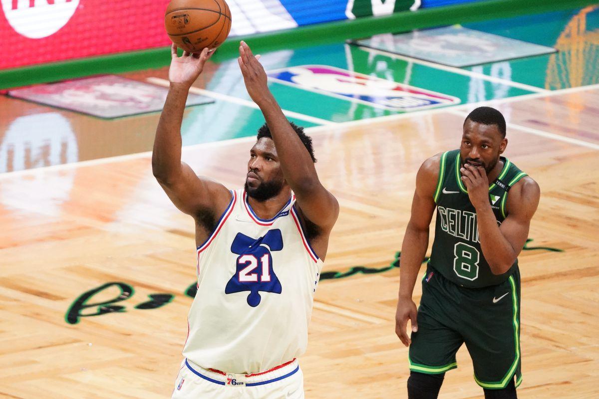 NBA: Philadelphia 76ers at Boston Celtics