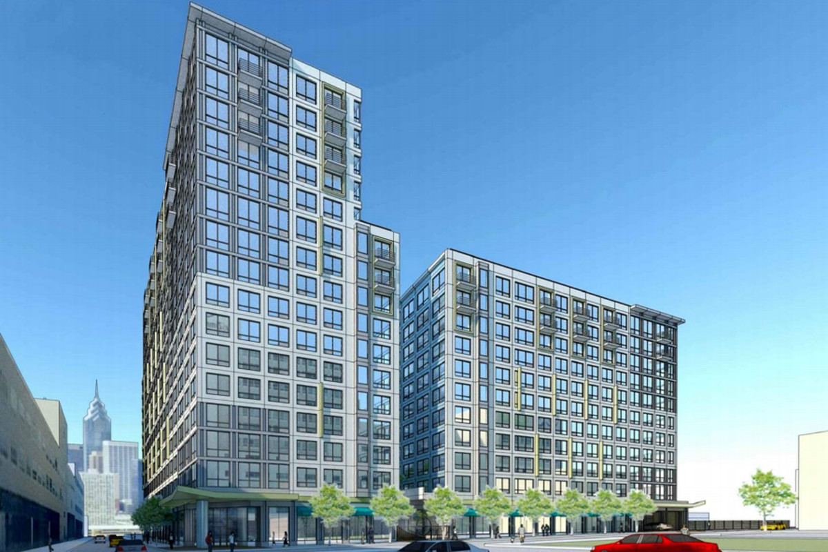 The Hamilton is a two-tower complex proposed for 440 N. 15th Street.