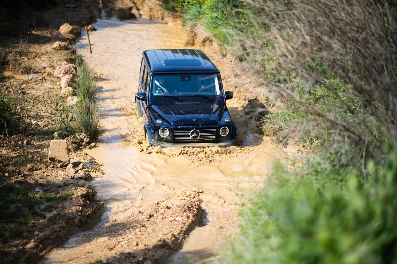 the 2019 mercedes g wagen is where past and present meet under the hood