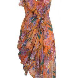 """<b>Zimmermann</b> Rebellion Bluebird drape dress, <a href=""""http://us.zimmermannstore.com/collections/readytowear/clothing/rebellion-bluebird-drape-dress.html"""">$550</a>"""