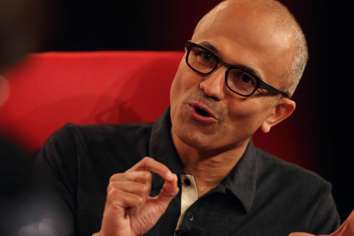 Microsoft's Nadella Pokes Google: They Sure Are Great Marketers