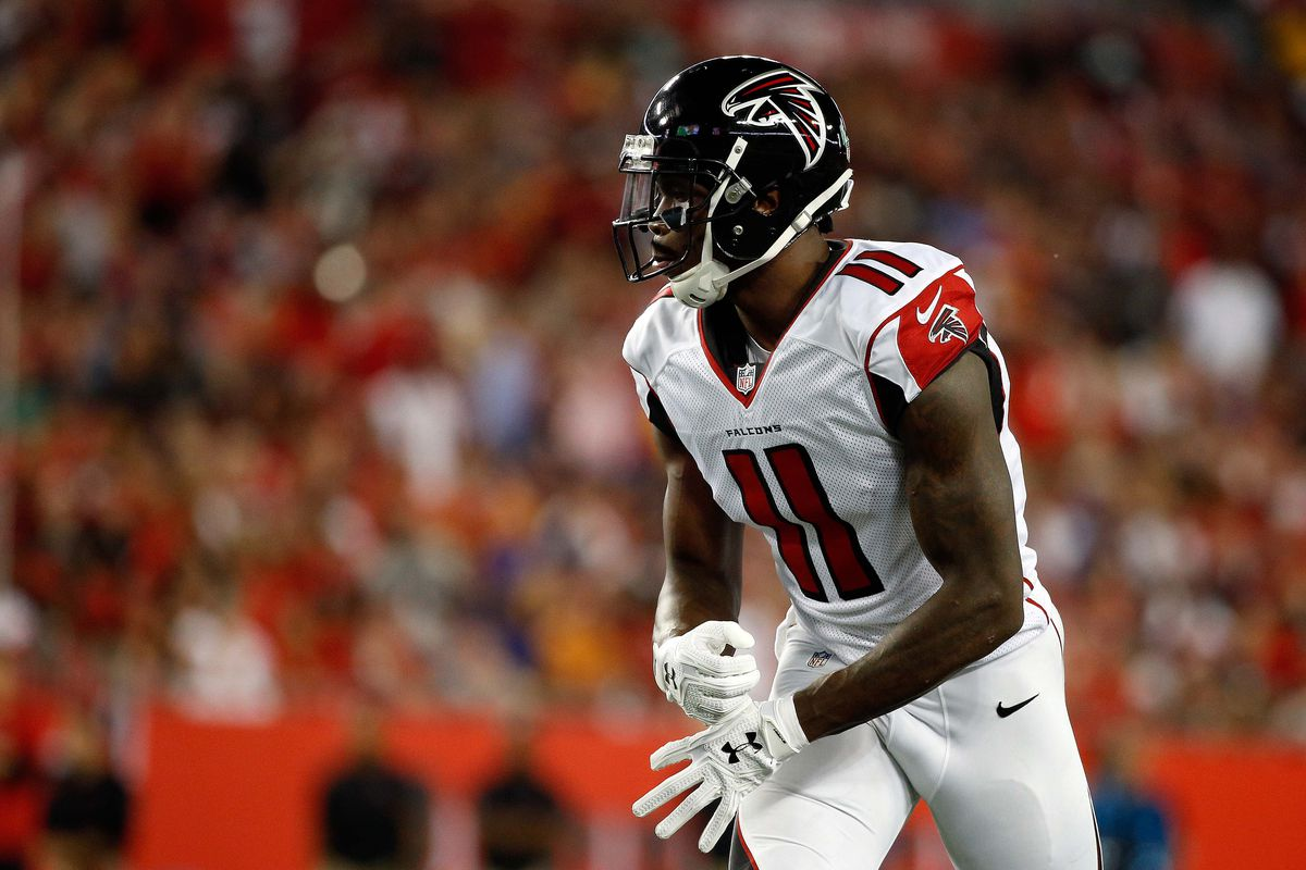 Atlanta Falcons reciever Julio Jones sent fans into a panic on Monday night  after scrubbing his Twitter account of all things Falcons.