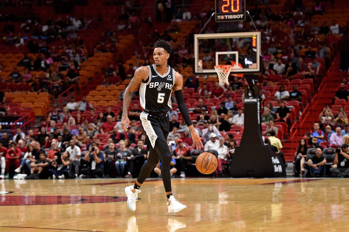 Dejounte Murray and Derrick White have not played together yet, and that's fine
