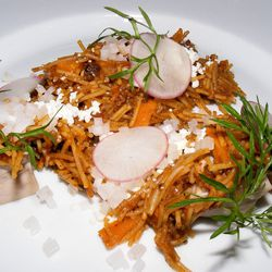 """Sopa Seca de Fideos from Empellon Cocina by <a href=""""http://www.flickr.com/photos/37619222@N04/8060368325/in/pool-eater/"""">The Food Doc</a>"""