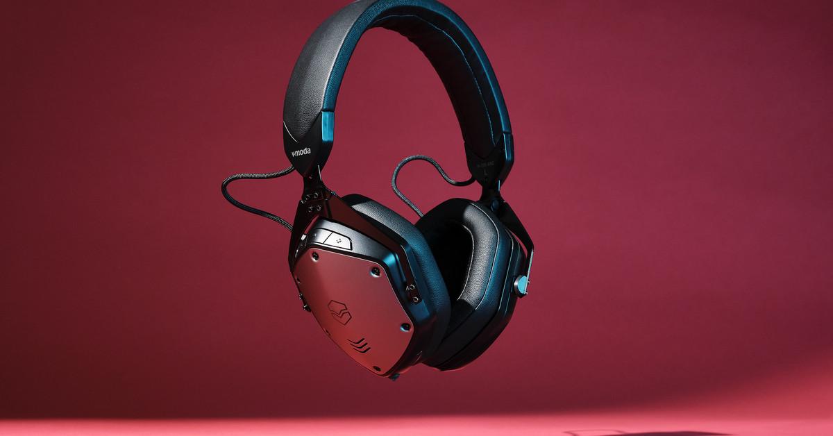 V-Moda's classic headphone design finally gets active noise cancellation