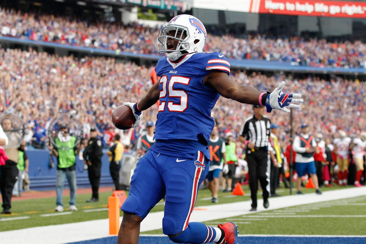 LeSean McCoy injury makes him game time decision for Sunday vs