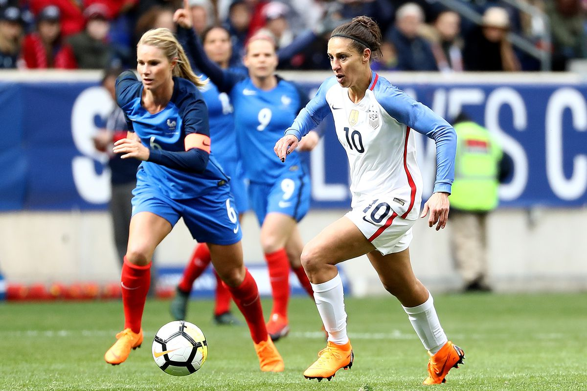 2018 SheBelieves Cup - United States v France